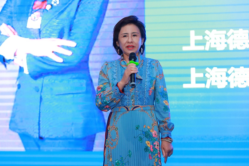 4、上海德申行业委会会主席宁玲致辞