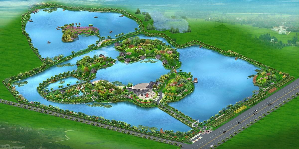 江南淡水渔业科普研发基地水系景观设计与生态治理方案