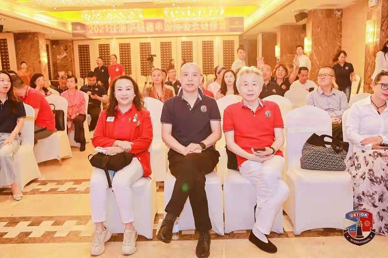 2、上海德申国际俱乐部三周年庆典