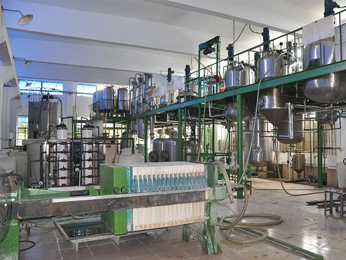 微生物发酵车间