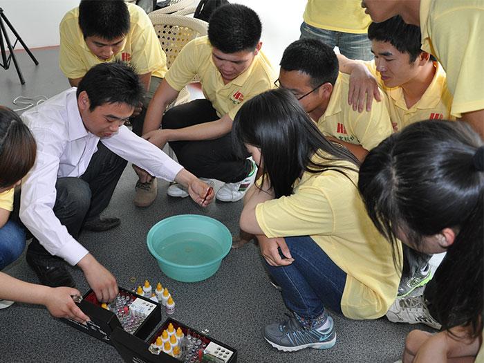 泓宝-湖北生物科技职业学院实习生入职培训