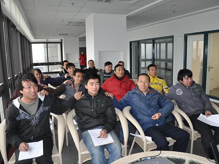 泓宝-影响力企业内训现场