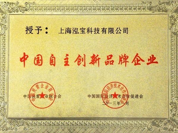 泓宝-2013年中国自主创新品牌企业